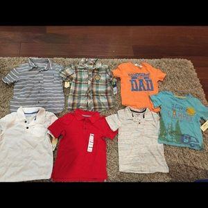 NWT boys shirts size 5t